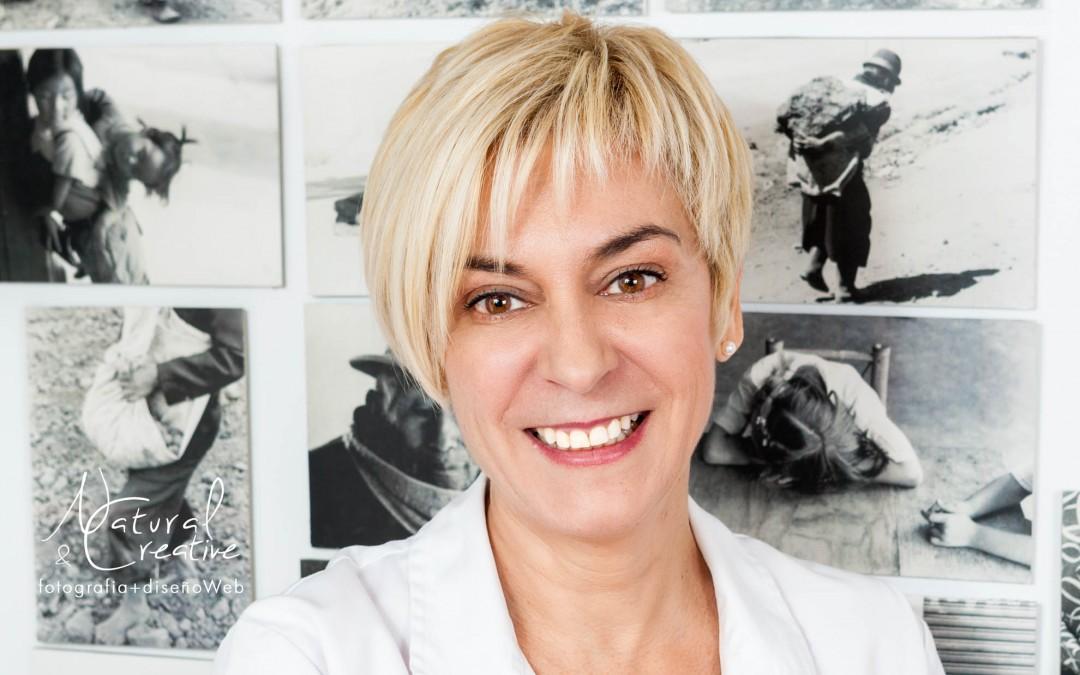 Fotografía de retrato para un OPI de la Clínica Dental Les Escoles
