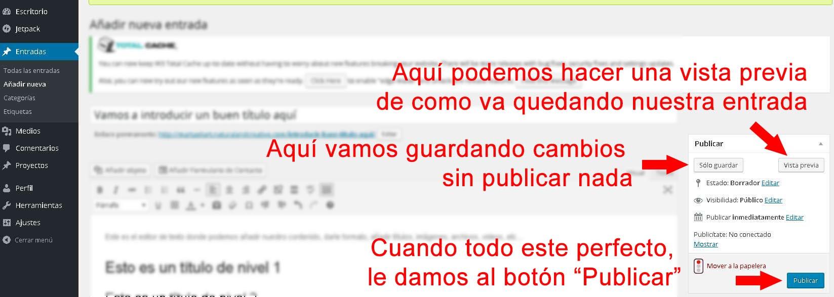 Posicionamiento SEO, Posicionamiento, SEO, editar blog wordpresss, editar entrada, editar categorias, wordpress, editar etiquetas, editar post, insertar imagen